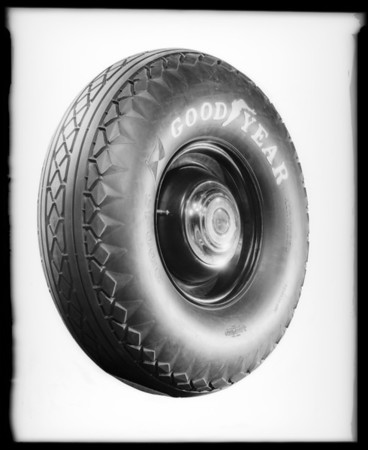 "Art shots with 12"" cushion tire, Southern California, 1932"