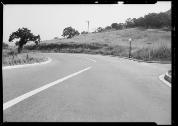 Beverly Glen Boulevard and Knobhill Drive, Bel Air, Testa vs. Fritz, Sherman Oaks, CA, 1932