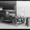 Whippet sedan - Heinrickson, owner, Southern California, 1932