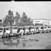 Adohr Creamery trucks, Southern California, 1932