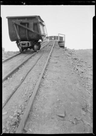 Platte Guild place mine near Jennington, Southern California, 1932