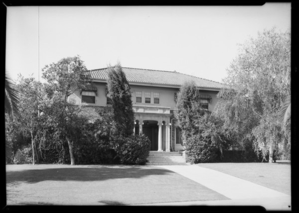 House, 455 South Windsor Boulevard, Los Angeles, CA, 1932