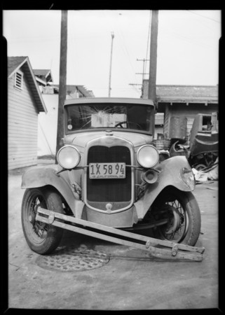 Ford coupe, Don C. Hulse, owner, Southern California, 1932