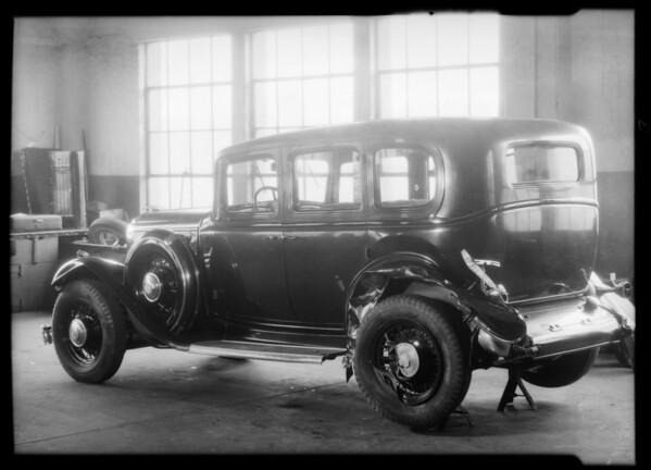 1932 Buick sedan belonging to Eugene Gruenther, Southern California, 1932