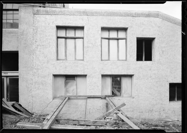 Street work, West 3rd Street & South Lucas Avenue, Los Angeles, CA, 1932
