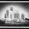 New views of County Hospital, Los Angeles, CA, 1932