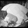 "Building ""Globe of World"" for Dole Pineapple, Southern California, 1935"