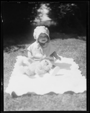 Snapshots, 10 1/2 months, Southern California, 1932