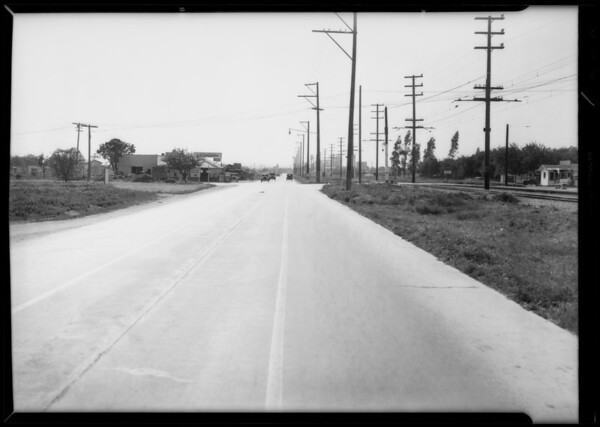 El Monte & North Peck Road, intersection, El Monte, CA, 1932