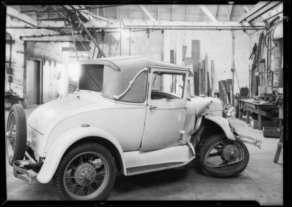 Ford coupe, 3V2934, Sailor, owner, Southern California, 1932