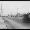 Florence Avenue, before Figueroa and Broadway, Los Angeles, CA, 1932