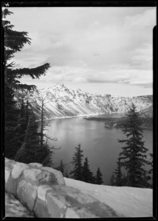 Crater Lake, Oregon, 1932