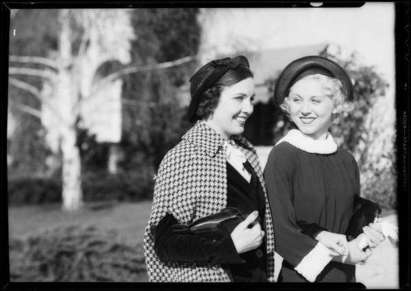 """Isn't Walking Grand"", Enna Jettick Shoes, Southern California, 1935"