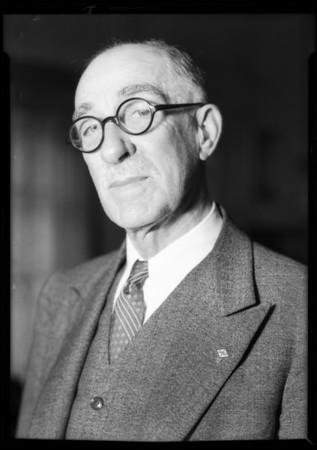 Mr. Pobson, Southern California, 1932