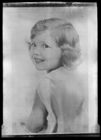 Kiddies, Southern California, 1932