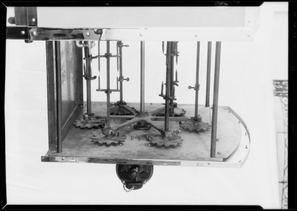 Barbecue machine (section only), Southern California, 1932