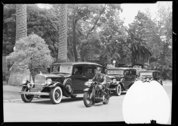 Police badge, Southern California, 1932
