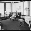 Interiors of Gaylord Apartments, 3355 Wilshire Boulevard, Los Angeles, CA, 1932