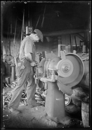 Installation at Reliance Manufacturing Co., Southern California, 1932