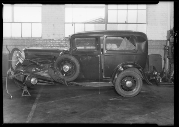 Ford coach, Oliver Messner owner (at Nerney Ford Agency), Southern California, 1933