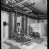 County Hospital, plumbing installation, Howe Bros., Los Angeles, CA, 1932