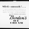 Slick-smooth advertisement, Borden's Ice Cream, Southern California, 1932