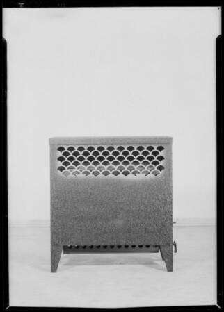 Two circulators, Ward heaters, Southern California, 1932