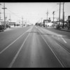 Intersection of West Washington Boulevard & South Western Avenue, Los Angeles, CA, 1935