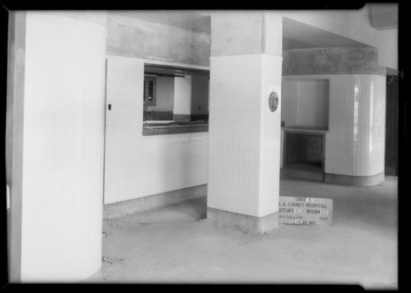 County Hospital, Collins Co., Los Angeles, CA, 1932