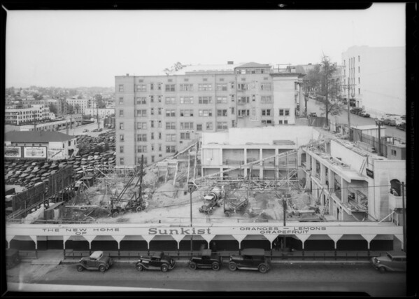 Fruit growers' exchange building, Southern California, 1935