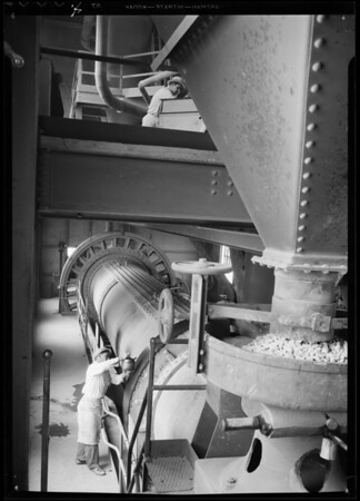 Cement grinder for Southern California Business cover, Southern California, 1935