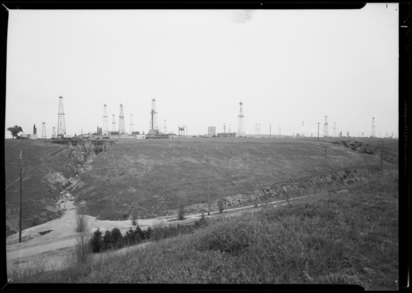 Del Rey oil field, Southern California, 1935