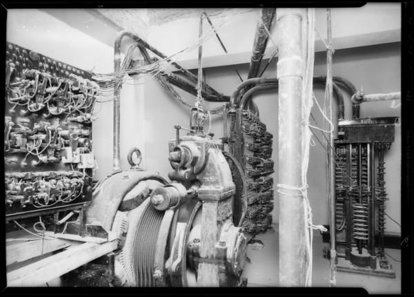County Hospital, Otis Elevator, Los Angeles, CA, 1932