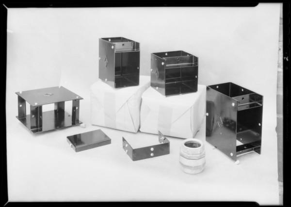 Switch box and plugs, Southern California, 1932