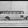 Castaic Union High School bus - Seal Beach & San Jacinto, Southern California, 1932