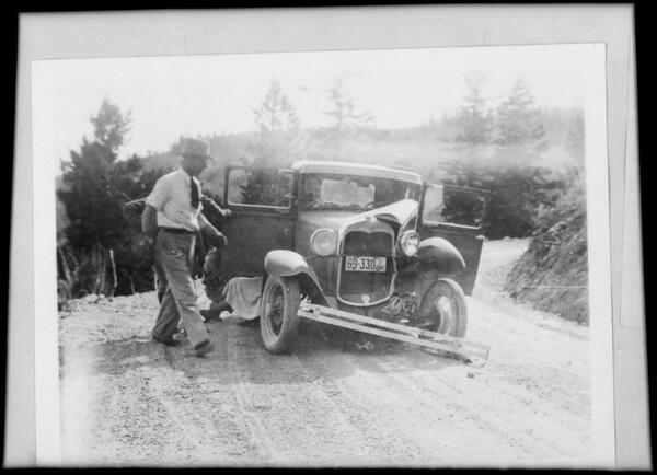 Kodak prints, Callister vs. Covell, Southern California, 1932