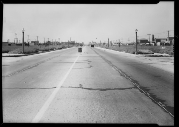 Intersection, 4th and Atlantic, File #673346, Southern California, 1932
