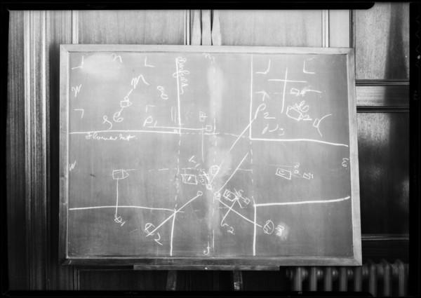 Blackboard, Mayers vs. Clay, Superior Court, Pasadena, CA, 1932