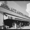 Exterior of Food Palace on 5413 Wilshire Boulevard, Los Angeles, CA, 1935