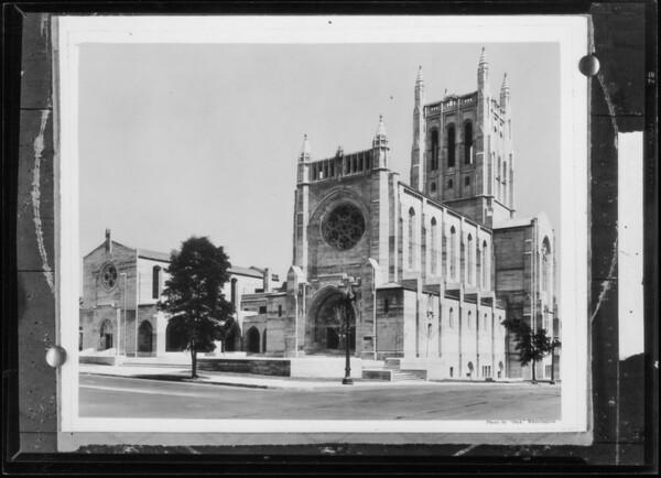 Church after retouching, Southern California, 1932