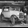 Ford Tudor sedan, General Garage, car registered to Carmen F. Wriggley, Santa Monica, CA, 1932