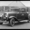 Buick coupe belonging to Superior Oil Co., Intersection of East 50th Street & South Soto Street, Vernon, CA, 1932