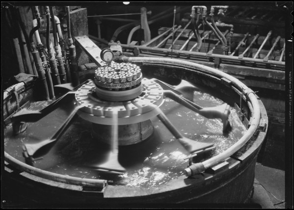 Electrotype planting tank, Southern California, 1935