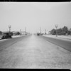 Ford coupe & intersection of 9th Street and Record Street, assured D.C. Williams, File #3050, Southern California, 1932
