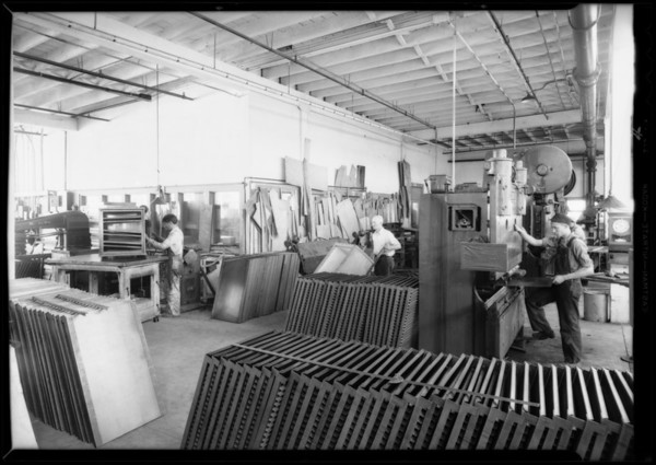 Operations of plant, Southern California, 1932