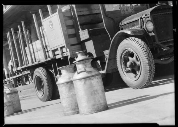 Western Dairies truck, Glendale, CA, 1932