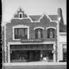 Exterior of University Avenue store, Los Angeles, CA, 1935