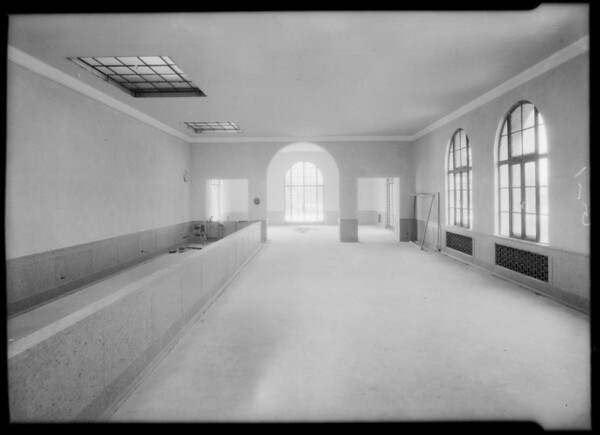 County Hospital, Grassi Co., Los Angeles, CA, 1932