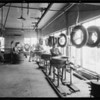 Exterior of building and retread department, Southern California, 1932