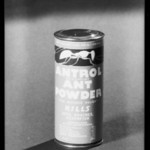 Can of Antrol ant powder, Southern California, 1933